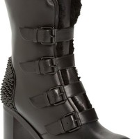 Christian Louboutin 'Glorymount' Studded Buckle Boot | Nordstrom
