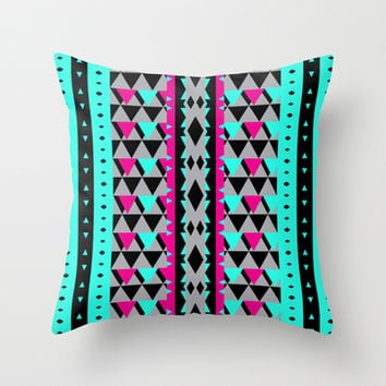 Mix #552 Throw Pillow by Ornaart