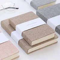 Blank paper notebook Notepad Portable Mini Diary Conference Notebook Stationery travel Planner Note Pad School prizes