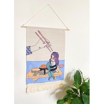 Mershimi Woven Tapestry