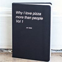 WHY I LOVE PIZZA Journal