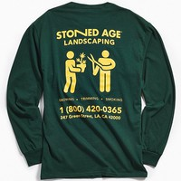 Stoned Age Landscaping Long Sleeve Tee | Urban Outfitters