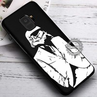 Stormtrooper in Suit Star Wars iPhone X 8 7 Plus 6s Cases Samsung Galaxy S9 S8 Plus S7 edge NOTE 8 Covers #SamsungS9 #iphoneX