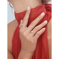 Essentials Handchain - Silver