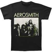 Aerosmith Men's  Greatest RNR Band T-shirt Black Rockabilia