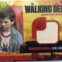 WALKING DEAD Season 1 Cryptozoic Chandler Riggs CARL GRIMES Wardrobe M4