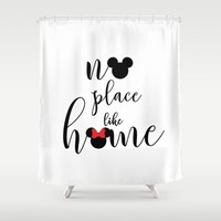 no place like home Shower Curtain by Studiomarshallarts
