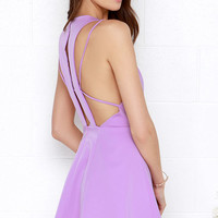 Thrill Chic-er Orchid Purple Dress