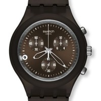 Swatch Full-Blooded Smoky Brown Chrono Men's watch #SVCC4000AG
