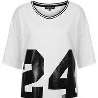 TALL No.24 Motif Tee - White