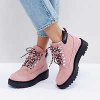 ALDO Pevio Blush Hiking Boots at asos.com
