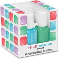 Resort 4 Pc Mini Cube Nail Polish Set