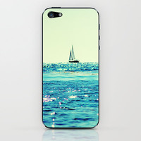 Sailin' iPhone & iPod Skin by Lisa Argyropoulos | Society6