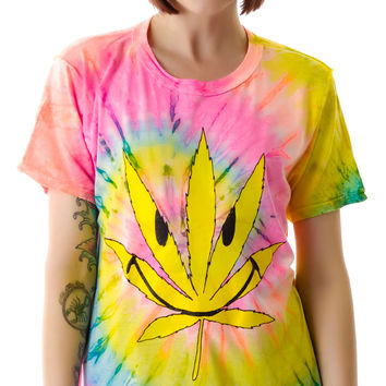 UNIF Happy Weed Tee Multi