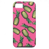 Pineapple Pattern iPhone 5 Cover from Zazzle.com