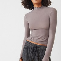 Out From Under Cass Mock Neck Top | Urban Outfitters