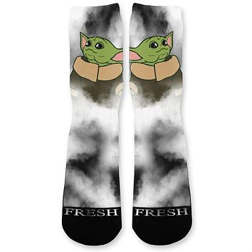 The Child Smoke Custom Athletic Fresh Socks