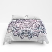 JEWEL MANDALA Comforters by Nika