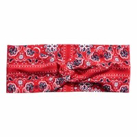 Patterned hairband - Red/Paisley - Ladies | H&M CA