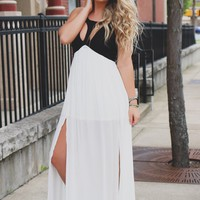 Sultry Nights Maxi Dress