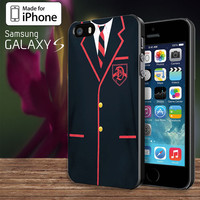 Glee Dalton Academy   For Samsung Galaxy S3 / S4 and IPhone 4 / 4S / 5 / 5S / 5C Case