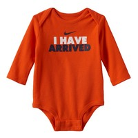 Nike ''I Have Arrived'' Bodysuit - Baby Boy, Size: