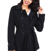Night Out Trench Coat