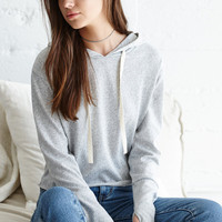 LA Hearts Cropped Pullover Hoodie at PacSun.com
