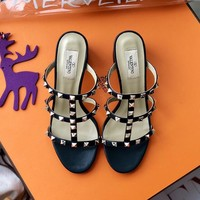 Valentino Women Fashion Casual Heels Shoes-2