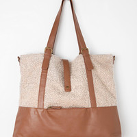 Urban Outfitters - Ecote Oversized Sherpa Tote Bag