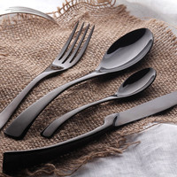 PuTwo Cutlery Luxury Sets 16 pcs Stainless Steel Flatware for 4 Persons Cultery Set Christmas Gift