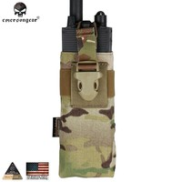 Emersongear Military PRC Radio Pouch FOR RRV VEST Body Armor Molle Hunting Wargame Paintball Combat Gear EM8336 camo bags nylon