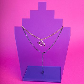 Return to Saturn Necklace