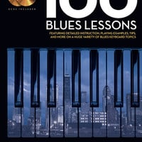 100 Blues Lessons - Keyboard Lesson Goldmine Series (Book & CD)