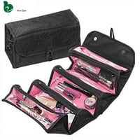 Neceser Beautician Necessaire Women Men Beauty Toiletry Travel Makeup Suitcase Make Up Organizer Box Case for Cosmetic Bag Pouch