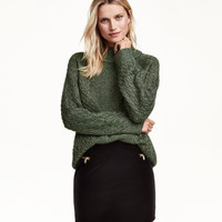 Glittery Knit Sweater - from H&M