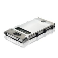 Columbia River Knife and Tool iNOX4WX iNoxCase 360 Stainless Steel iPhone 4 and 4S Case White