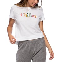 Chillax Loose Tee