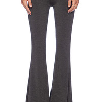 Saint Grace Ashby Flare Pant in Charcoal