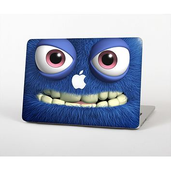 """The Angry Blue Fury Monster Skin for the Apple MacBook Air 13"""""""