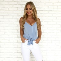 Spring Breeze Top in Blue