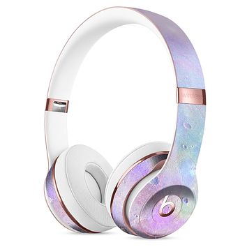 The Tie-Dye Cratered Moon Surface Full-Body Skin Kit for the Beats by Dre Solo 3 Wireless Headphones