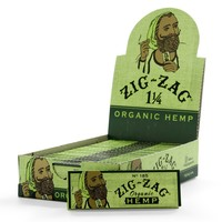 Zig Zag Natural Hemp Rolling Papers 1 1/4