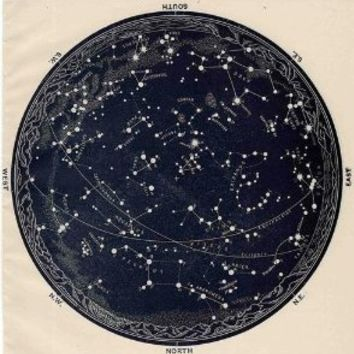 CONSTELLATION GLOBE GLOSSY POSTER PICTURE PHOTO earth stars astronomy cool
