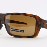 NEW Oakley Double Edge 9380-07 Prizm Polarized Sports Surfing Cycling Sunglasses