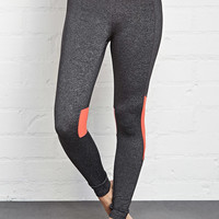 Contrast Panel Performance Leggings