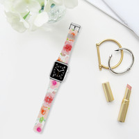 Spanish flowers Apple Watch Band (42mm) by Julia Grifol Diseñadora Modas-grafica | Casetify