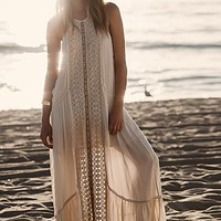 Free People Womens Seminyak Square Dress