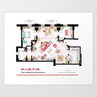 Ted Mosby apartment from 'HIMYM' Art Print by nikneuk