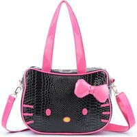 New Cute Crossbody Bags Children Hello Kitty Handbag For Women Cartoon Cat PU Waterproof Shoulder Bag Kids Girls Messenger Tote